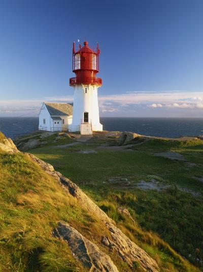 Lindesnes Fyr Lighthouse, Southernmost Point in Norway, Scandinavia, Europe-Gavin Hellier-Photographic Print