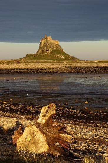 Lindisfarne, Northumberland, England; a Castle on the Tidal Island also known as Holy Island-Design Pics Inc-Photographic Print