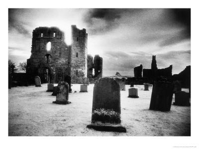 Lindisfarne Priory, Holy Island, Northumberland, England-Simon Marsden-Giclee Print
