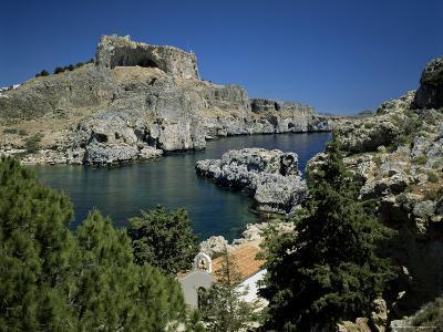 Lindos, Island of Rhodes, Dodecanese, Greek Islands, Greece-G Richardson-Photographic Print