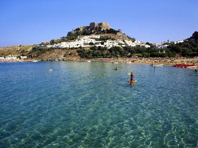 Lindos, Rhodes, Greece, Europe-Fraser Hall-Photographic Print