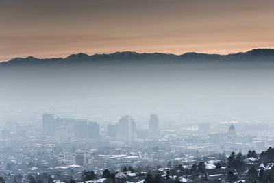 Salt Lake City Smog by Lindsay Daniels