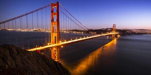 San Francisco Golden Gate Bridge by Lindsay Daniels