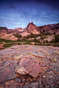 Sundial Peak And Lake Blanche In Big Cottonwood Canyon, Utah by Lindsay Daniels