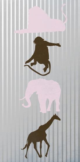 Line Dance 2-Sheldon Lewis-Art Print