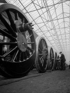 Line of Wheels