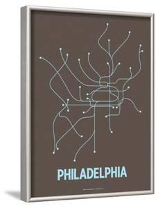 Philadelphia by Line Posters