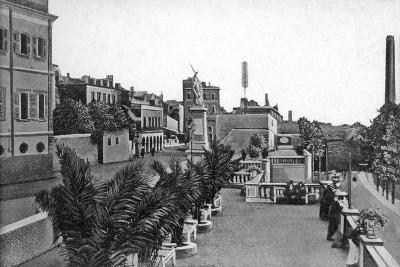 Line Wall Boulevard, Gibraltar, Early 20th Century-VB Cumbo-Giclee Print