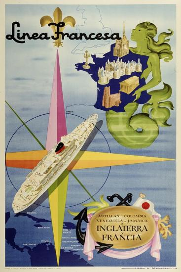 Linea Francesa-Marcus Jules-Giclee Print