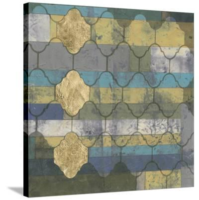 Linear Arabesque II-Jennifer Goldberger-Stretched Canvas Print