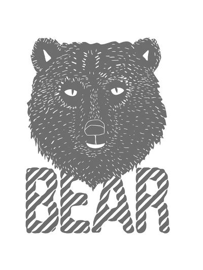 Linear - Bear-Myriam Tebbakha-Giclee Print