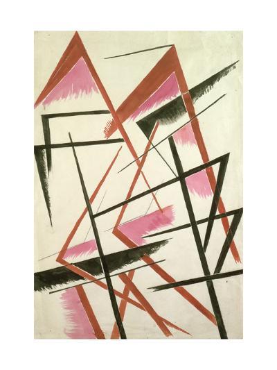 Linear Construction, c.1921-Liubov Sergeevna Popova-Giclee Print