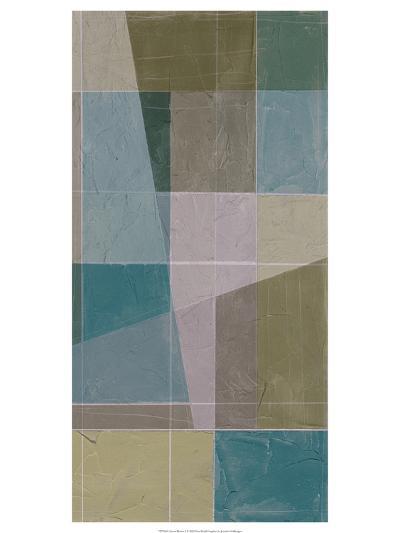 Linear Illusion I-Jennifer Goldberger-Art Print