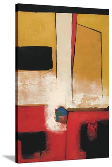 Linear Language II-Luis Parra-Stretched Canvas Print