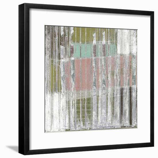 Linear Mix II-Jennifer Goldberger-Framed Art Print