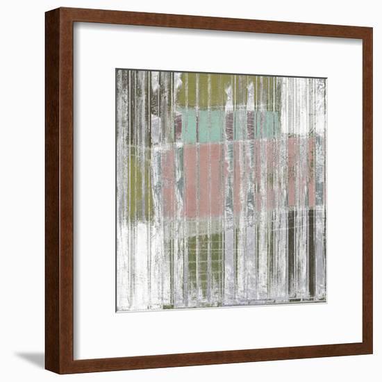 Linear Mix II-Jennifer Goldberger-Framed Art Print