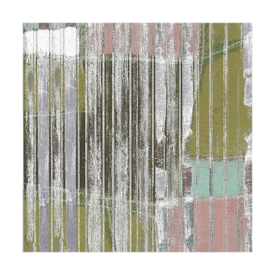 Linear Mix III-Jennifer Goldberger-Art Print