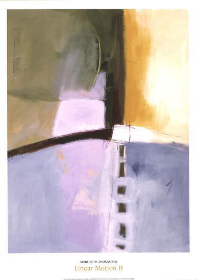 Linear Motion II-Mary Beth Thorngren-Art Print