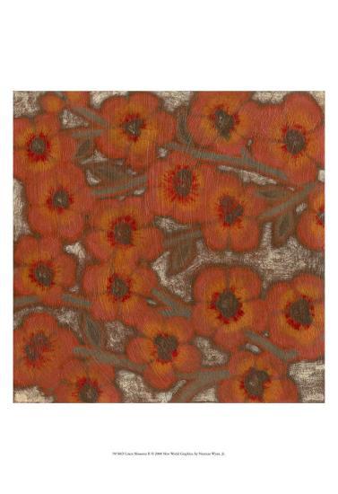 Linen Blossoms II-Norman Wyatt Jr^-Art Print
