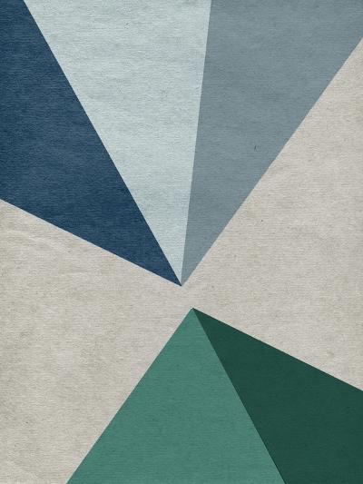 Linen Geometrics E--Premium Giclee Print