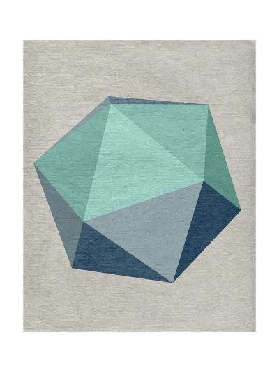 Linen Geometrics F--Premium Giclee Print
