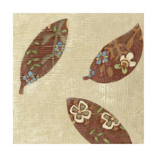 Linen Leaves IV-Chariklia Zarris-Premium Giclee Print