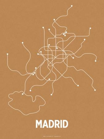 Madrid (Orange & Pearl White)