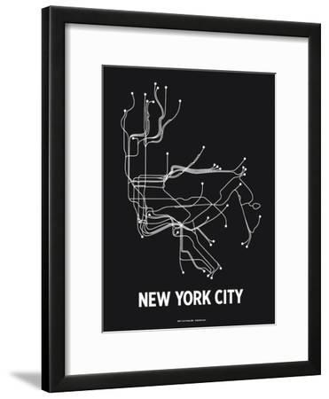New York City (Black & Pearl White)