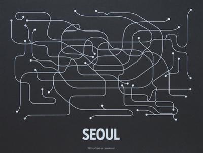 Seoul Screen Print Black
