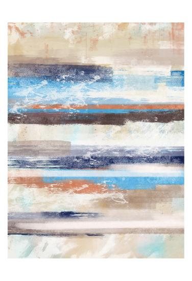 Lines A-Cynthia Alvarez-Art Print