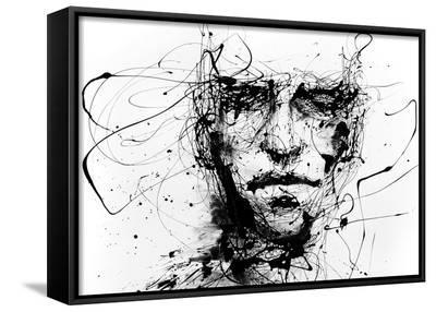 Lines Hold The Memories-Agnes Cecile-Framed Canvas Print