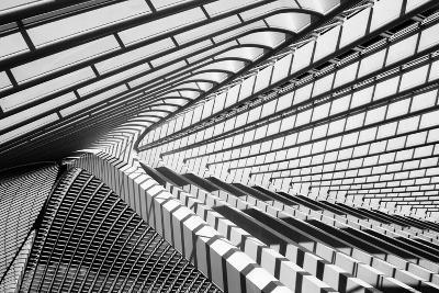 Lines in Liege-Jeroen Van-Photographic Print