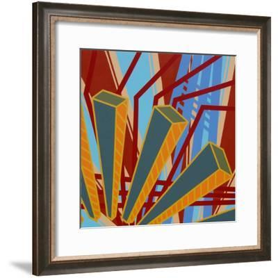 Lines Project 62-Eric Carbrey-Framed Giclee Print