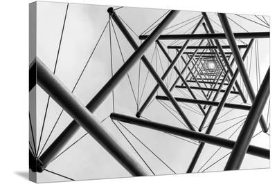Lines-Carla Vermeend-Stretched Canvas Print