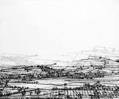 Linescape 3-Heike Negenborn-Collectable Print