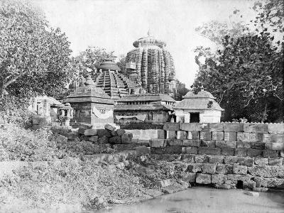 Lingaraj Temple, Bhubaneswar, Orissa, India, 1905-1906-FL Peters-Giclee Print