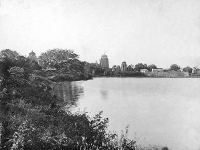 Lingaraj Temples, Bhubaneswar, Orissa, India, 1905-1906-FL Peters-Giclee Print