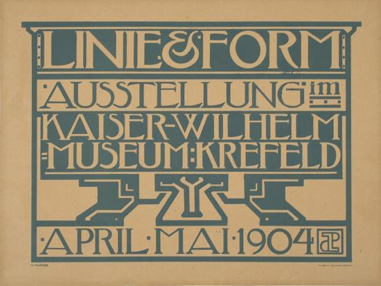Linie and Form-Marcus Jules-Giclee Print