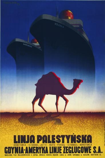 Linja Palestynska--Giclee Print