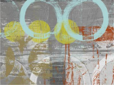 Linked Orbs I-Jennifer Goldberger-Art Print