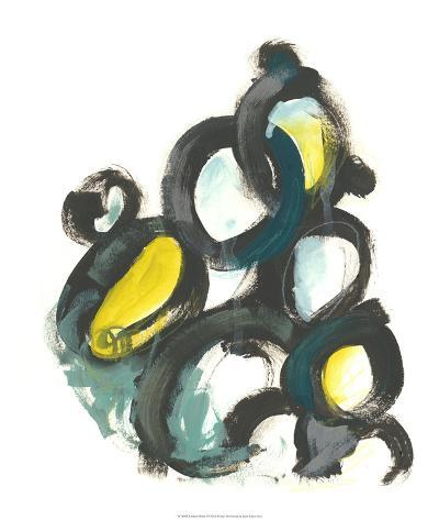 Linked Ovals I-June Vess-Giclee Print