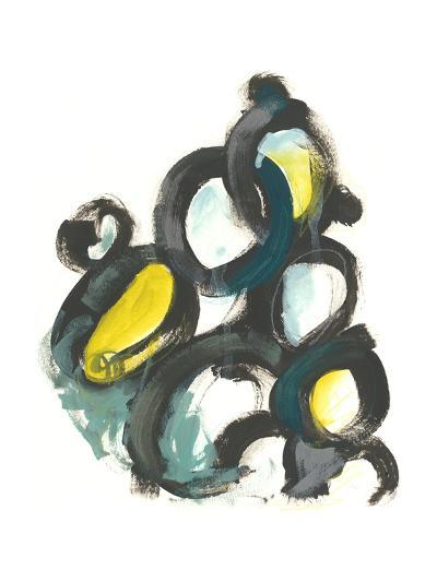 Linked Ovals I-June Vess-Art Print