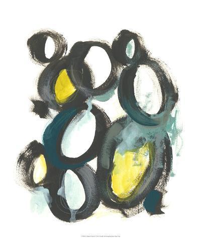Linked Ovals II-June Vess-Giclee Print