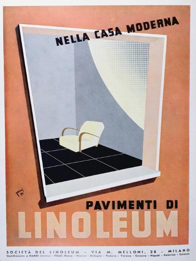 Linoleum in the Modern House--Giclee Print