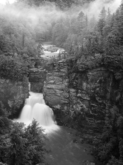 Linville Falls, Linville Gorge, Pisgah National Forest, North Carolina, USA-Adam Jones-Photographic Print