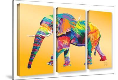 The Ride, 3 Piece Gallery-Wrapped Canvas Set by Linzi Lynn