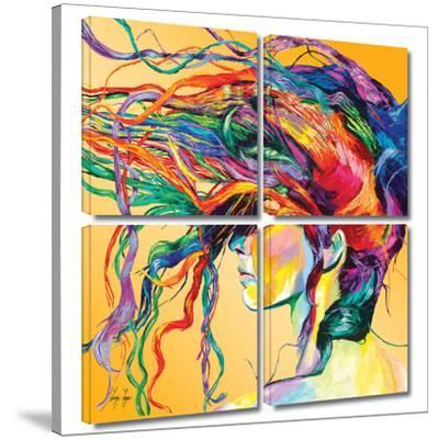 Windswept 4 piece gallery-wrapped canvas by Linzi Lynn