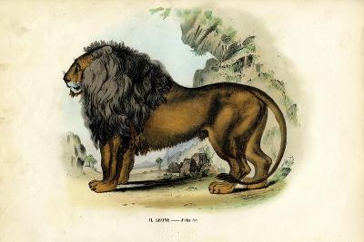 Lion, 1863-79-Raimundo Petraroja-Giclee Print