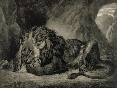 Lion de l'Atlas-Eugene Delacroix-Giclee Print