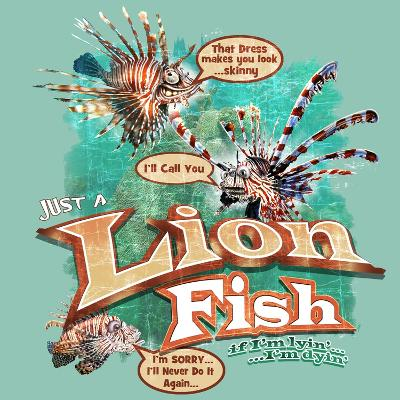 Lion Fish-Jim Baldwin-Art Print